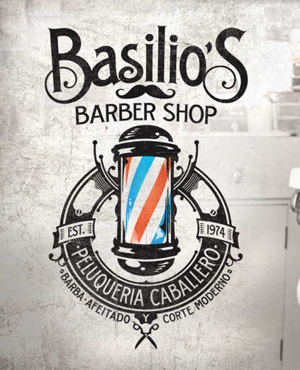 BASILIO´S BARBER SHOP · LOGO