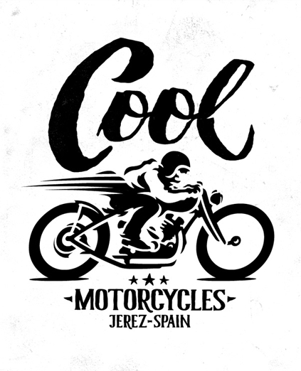 COOL MOTORCYCLES · LOGO