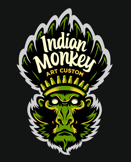 INDIAN MONKEY – LOGO